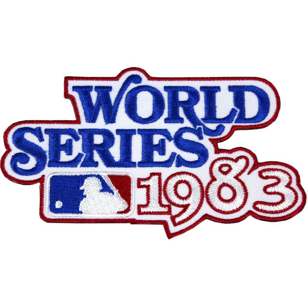 1983 MLB World Series Logo Jersey Patch Baltimore Orioles vs. Philadelphia Phillies