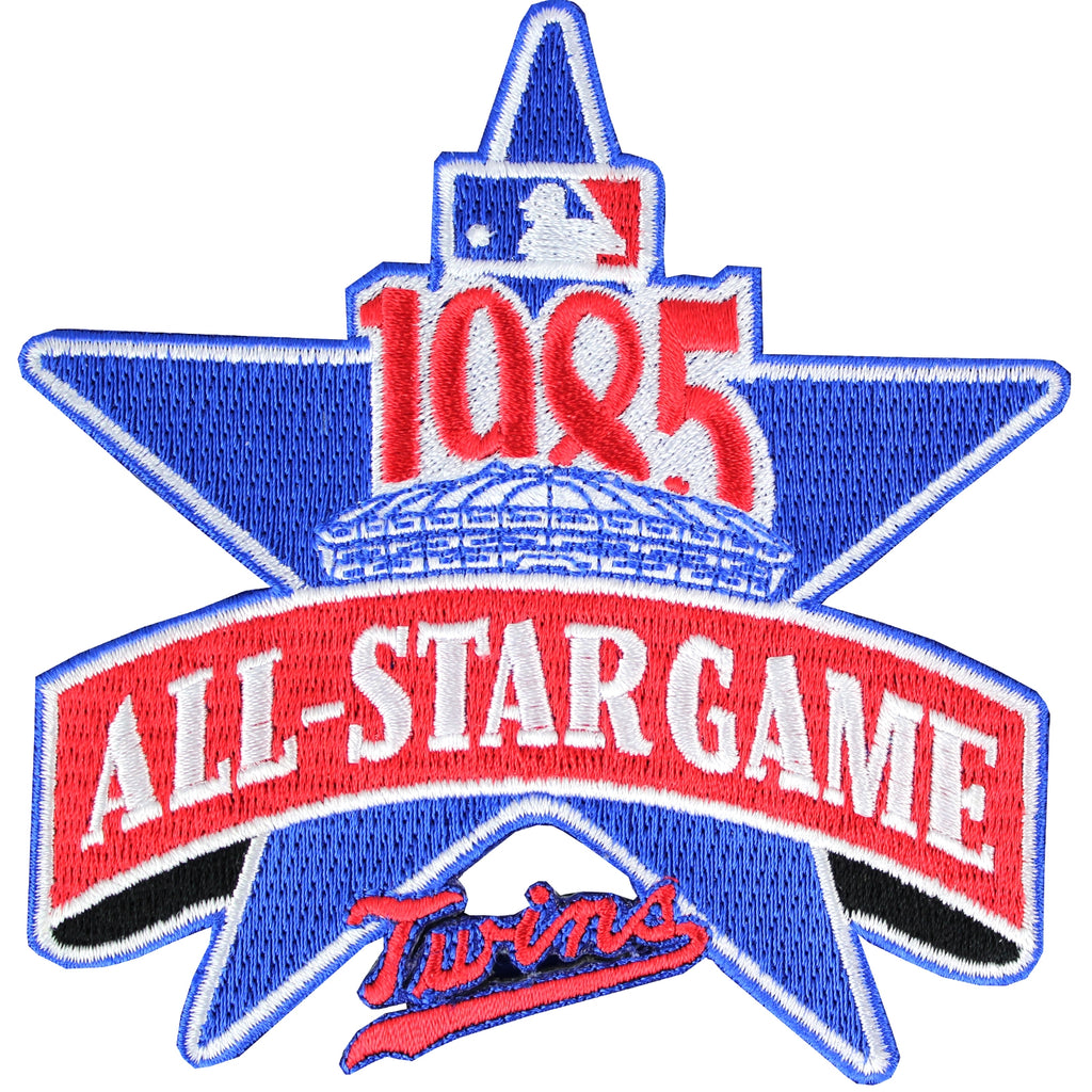 1985 MLB All Star Game Patch Minnesota Twins Jersey Patch