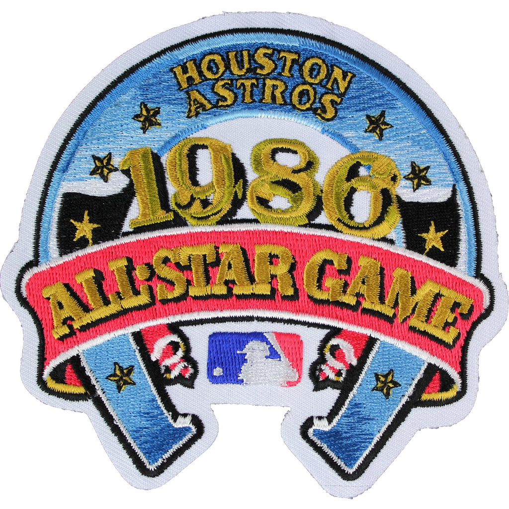 1986 MLB All Star Game Houston Astros Astrodome Jersey Patch