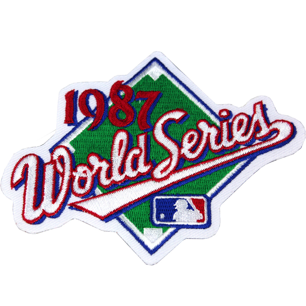 1987 MLB World Series Logo Jersey Patch St. Louis Cardinals vs. Minnesota Twins