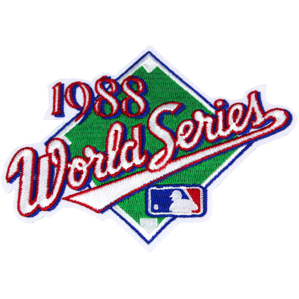 1988 MLB World Series Logo Jersey Patch Los Angeles Dodgers vs. Oakland Athletics