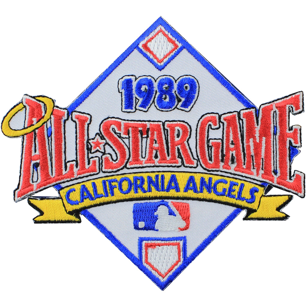 1989 MLB All Star Game California Angels Stadium Jersey Patch