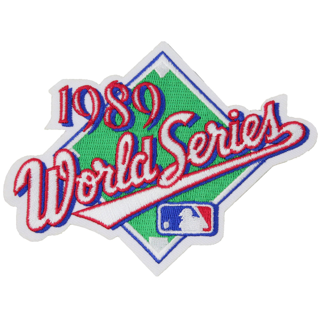 1989 MLB World Series Logo Jersey Patch San Francisco Giants vs. Oakland Athletics