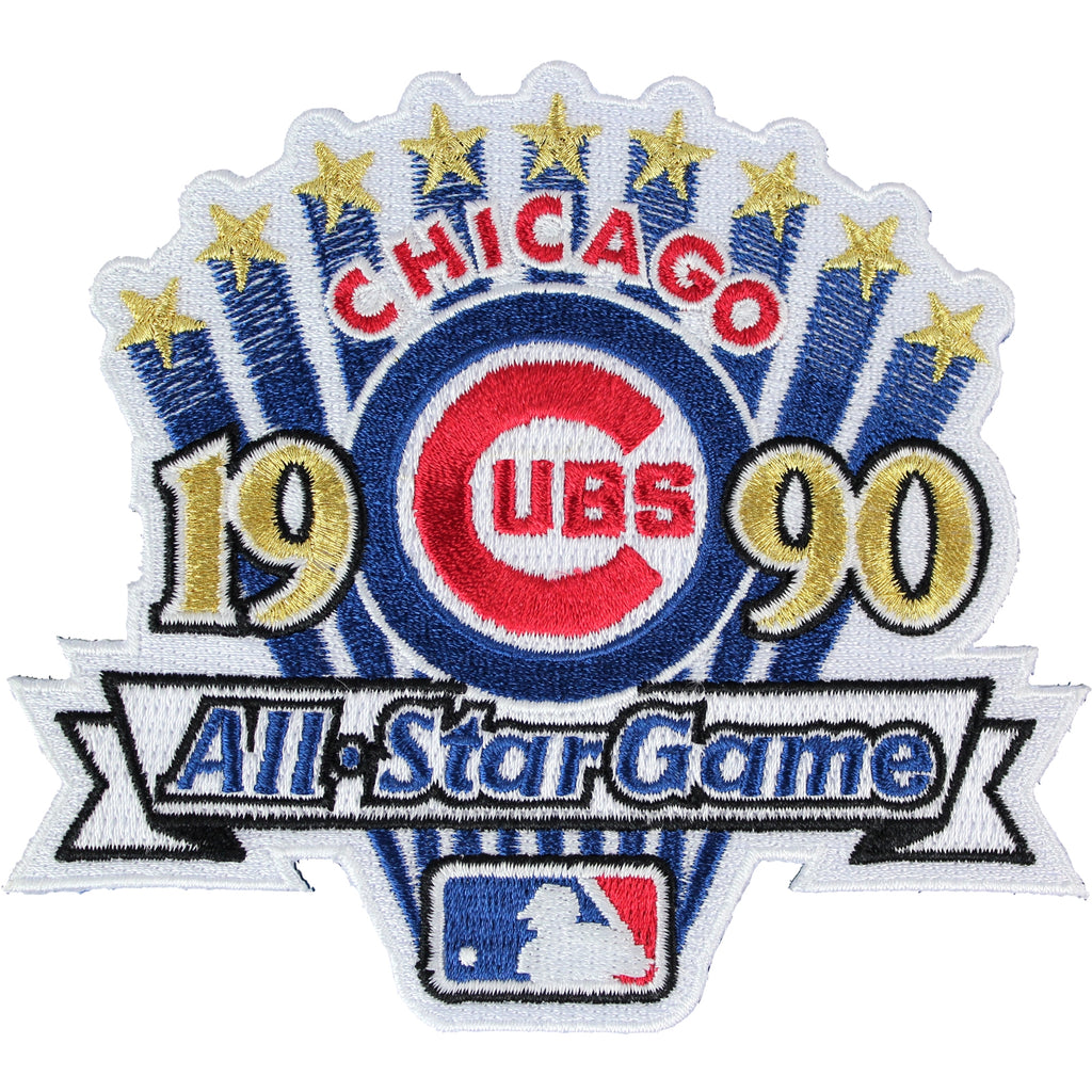 1990 MLB All-star Game Jersey Patch Chicago Cubs