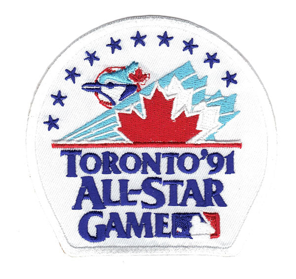 1991 MLB All Star Game Patch Toronto Blue Jays Jersey Patch