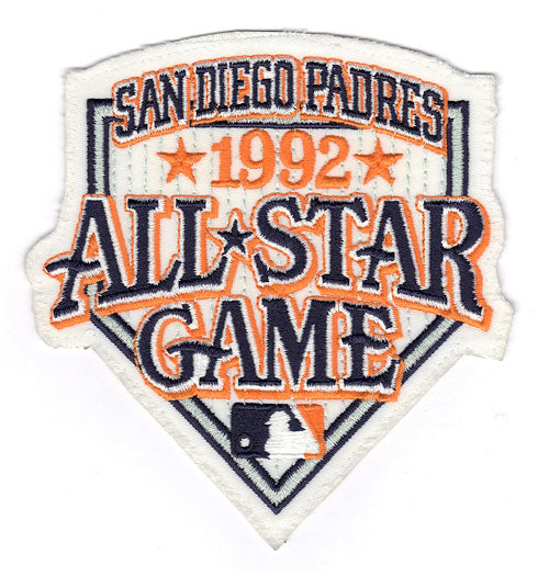 1992 MLB All Star Game San Diego Padres Jack Murphy Stadium Jersey Patch