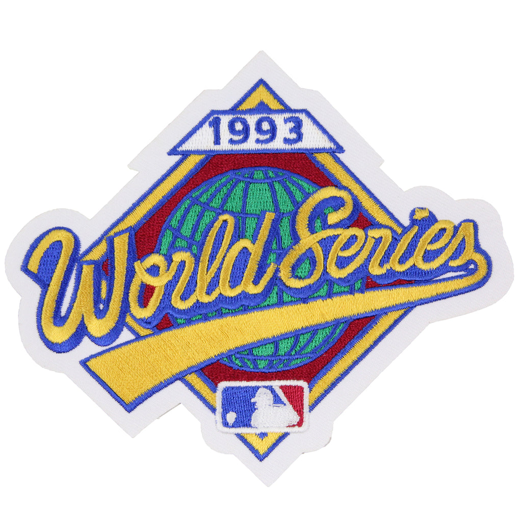 1993 MLB World Series Logo Jersey Patch Philadelphia Phillies vs. Toronto Blue Jays