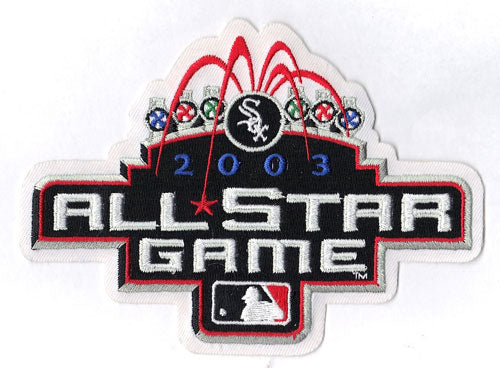 2003 MLB All Star Game Jersey Patch Chicago White Sox