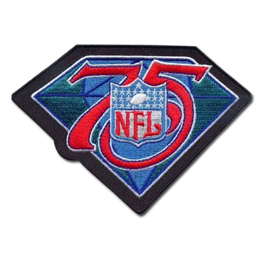 1994 NFL 75th Year Season Anniversary Jersey Patch