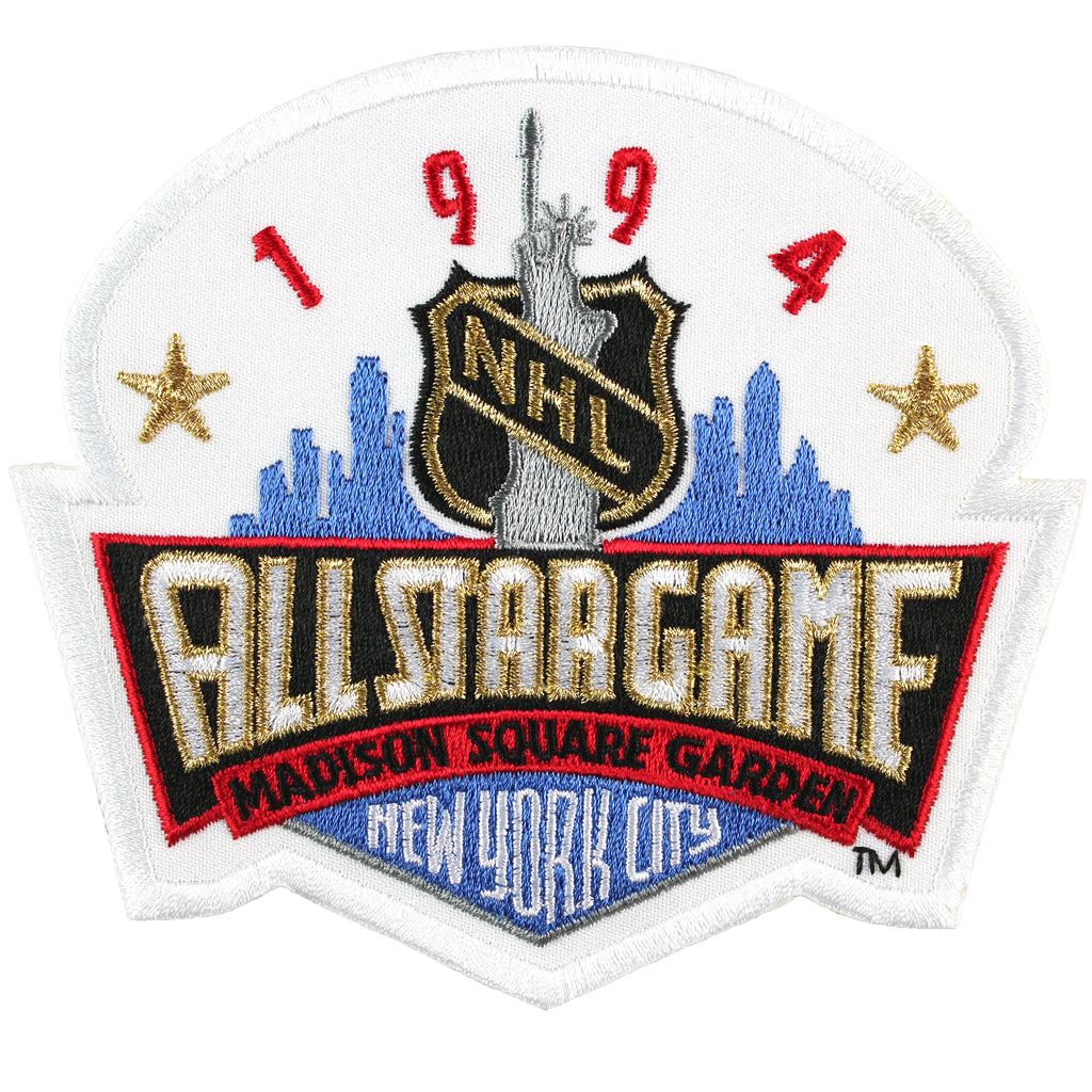 1994 NHL All Star Game Jersey Patch New York City Rangers