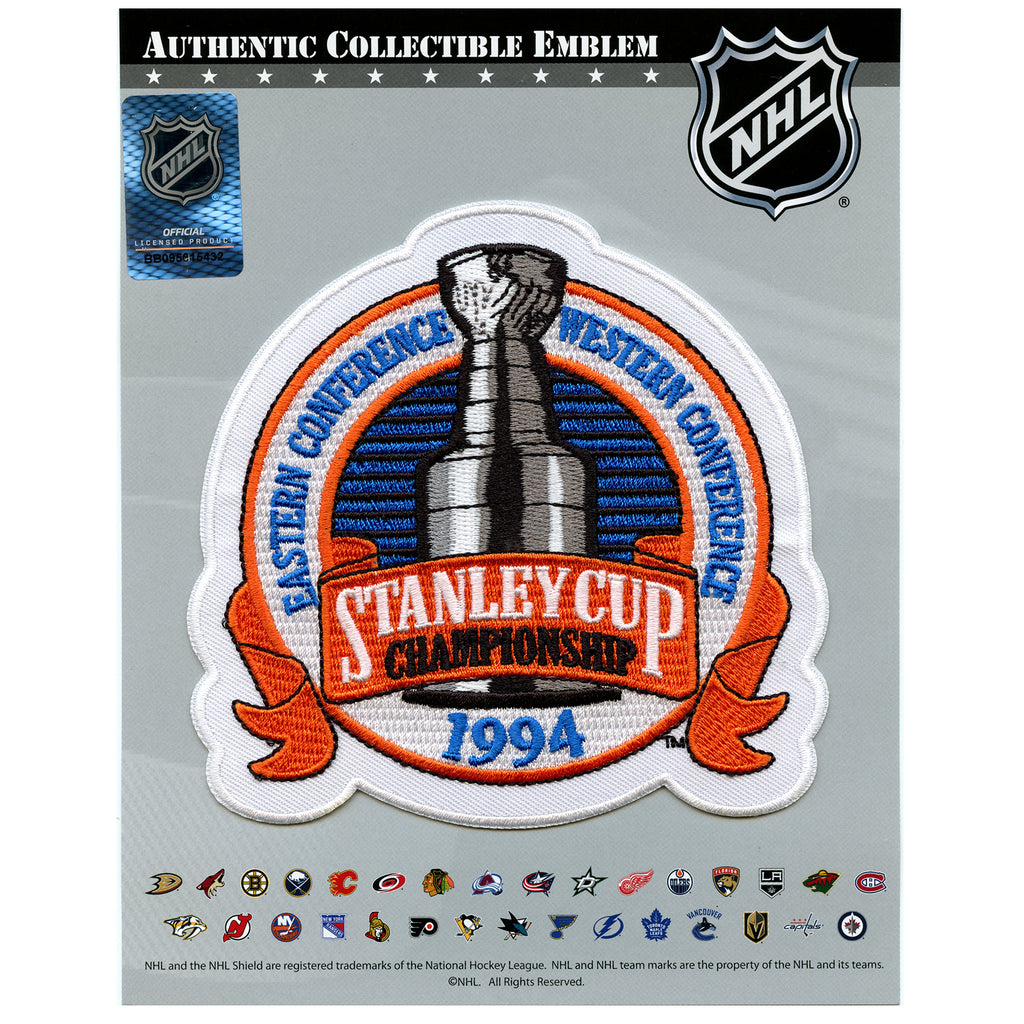 1994 NHL Stanley Cup Jersey Patch New York Rangers vs. Vancouver Canucks