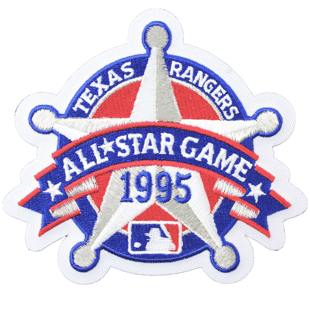 1995 MLB All Star Game Texas Rangers Jersey Patch