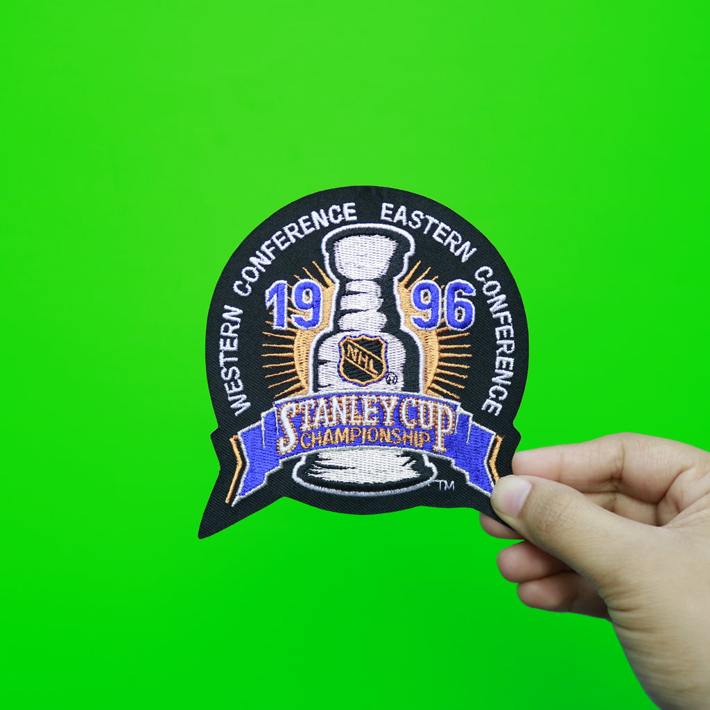 1996 NHL Stanley Cup Jersey Patch Colorado Avalanche vs. Florida Panthers
