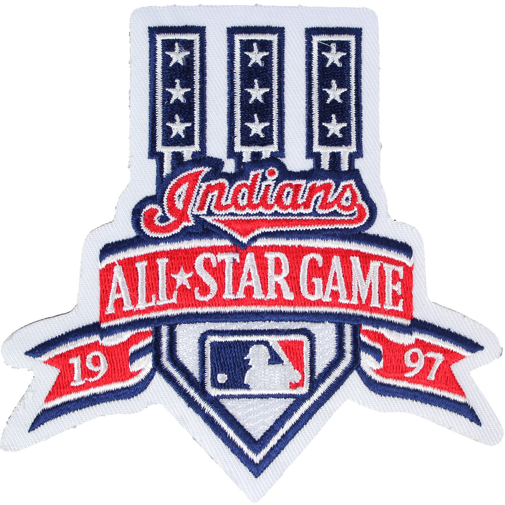 1997 MLB All Star Game Cleveland Indians Jersey Patch