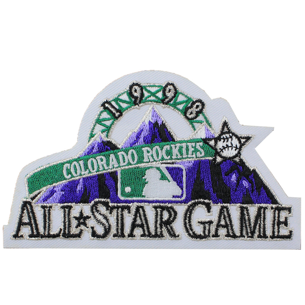 1998 MLB All Star Game Colorado Rockies Jersey Patch
