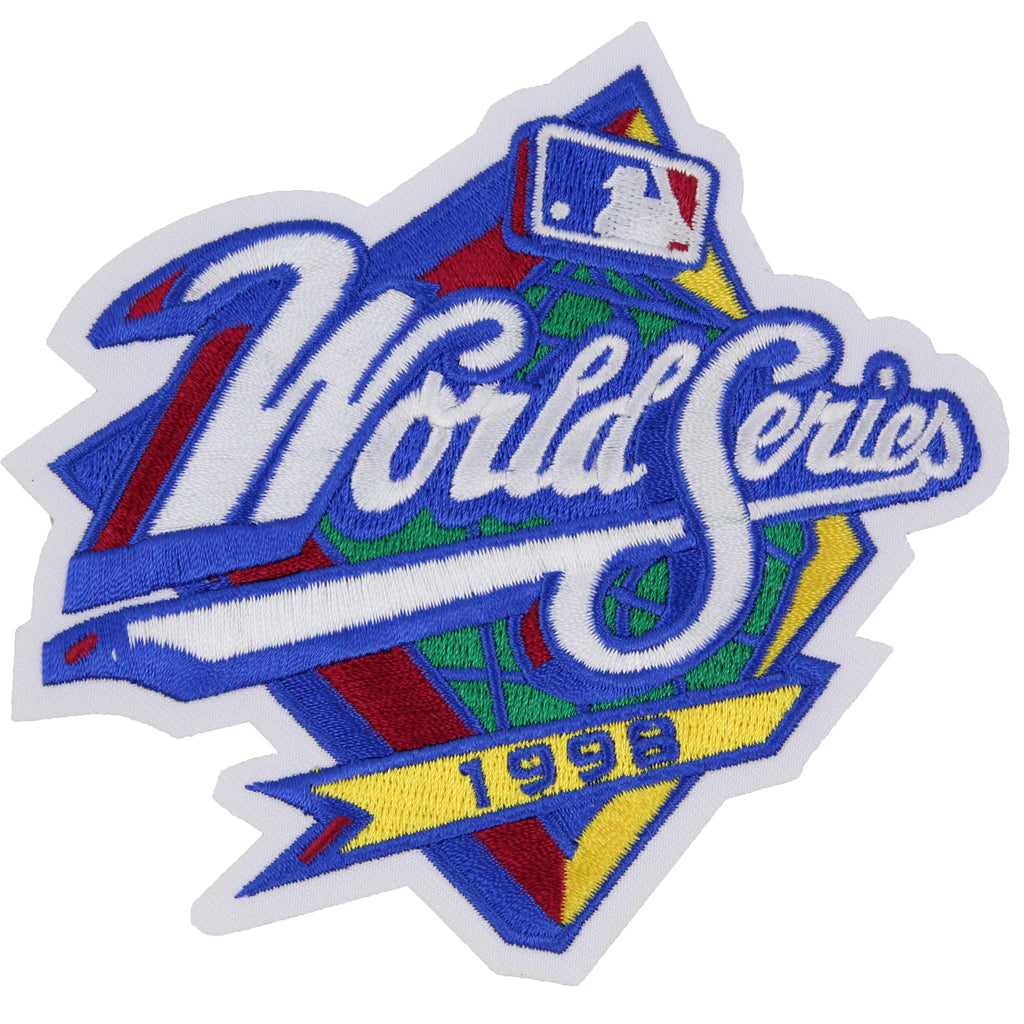 1998 MLB World Series Logo Jersey Patch San Diego Padres vs. New York Yankees