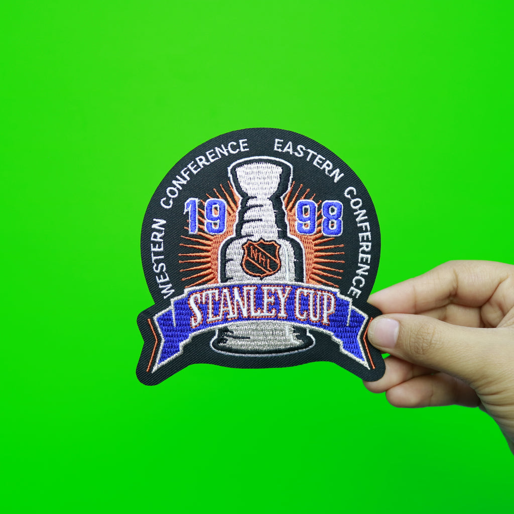 1998 NHL Stanley Cup Final Logo Jersey Patch (Detroit Red Wings vs. Washington Capitals)