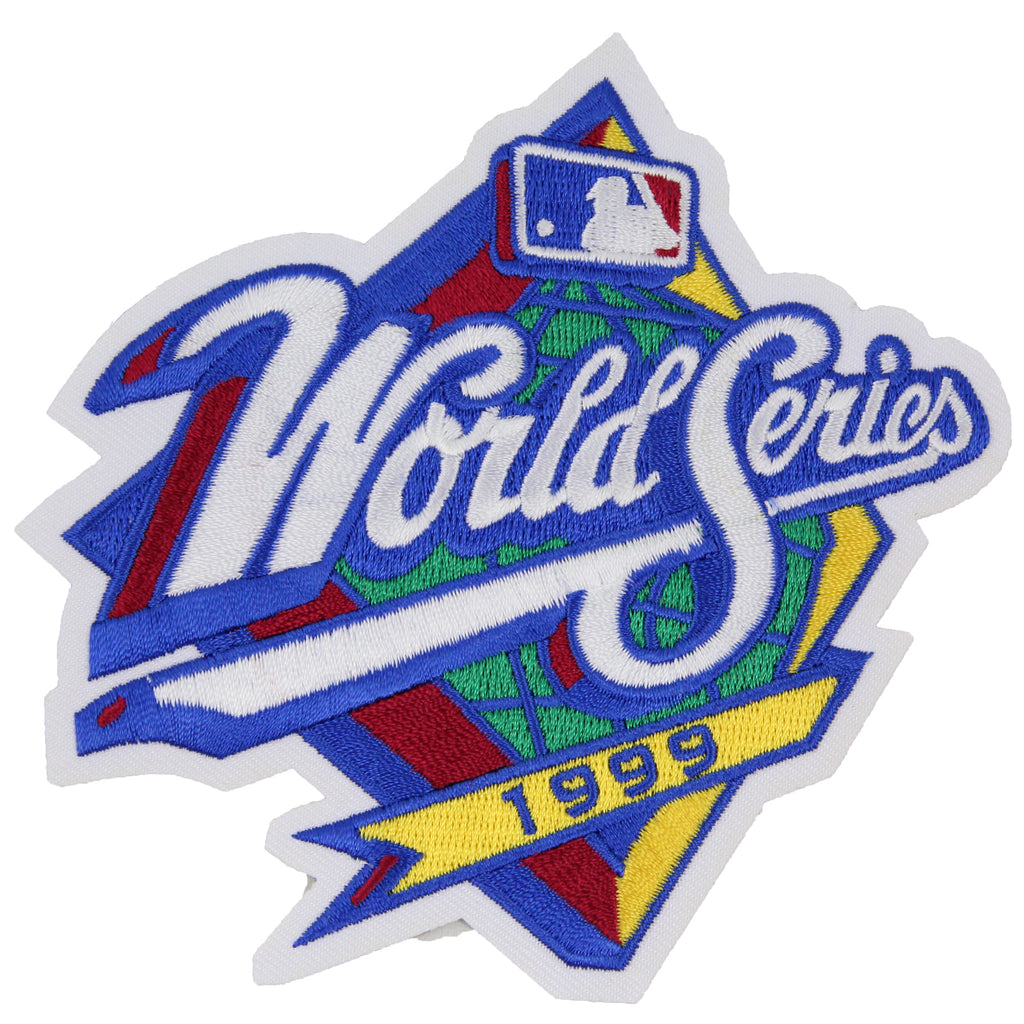 1999 MLB World Series Logo Jersey Patch Atlanta Braves vs. New York Yankees