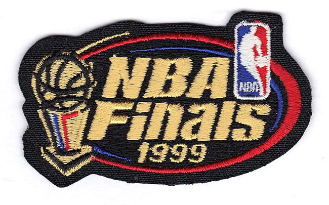 1999 NBA Finals Jersey Patch San Antonio Spurs New York Knicks