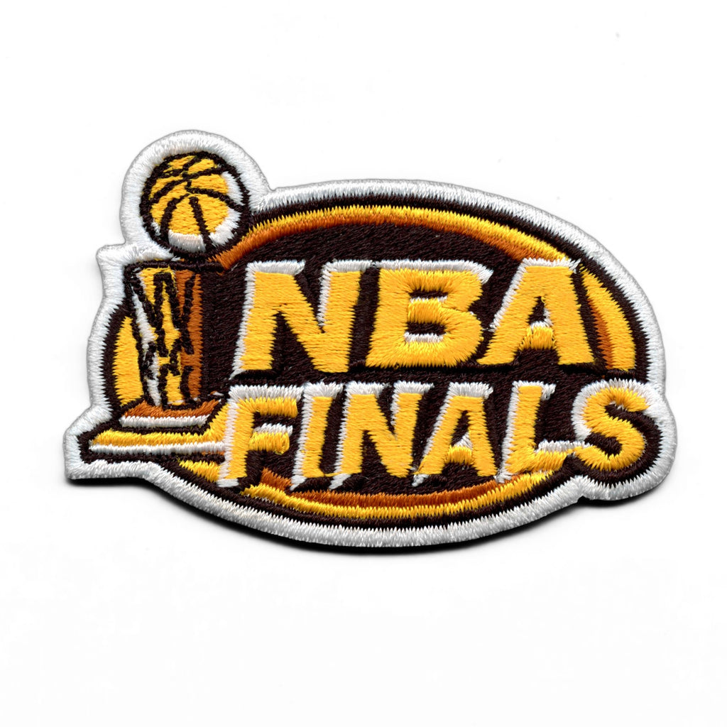 2000 NBA Finals Patch Indiana Pacers Los Angeles Lakers