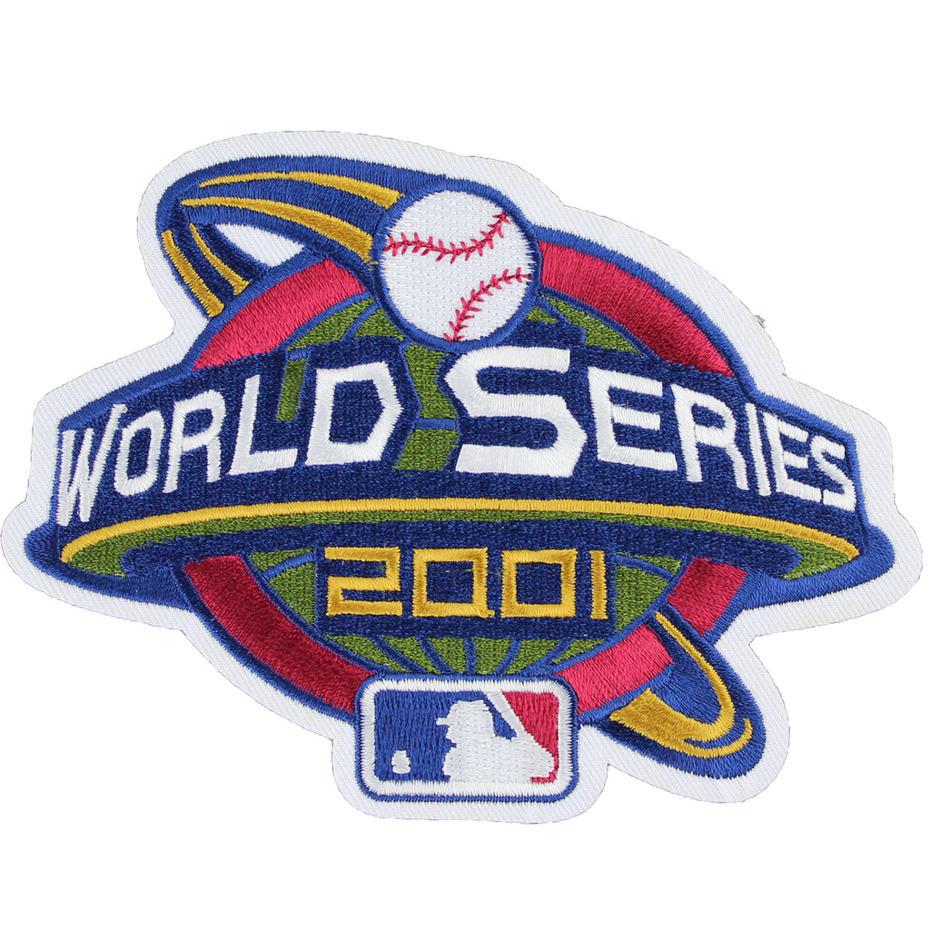 2001 MLB World Series Jersey Patch Arizona Diamondbacks New York Yankees