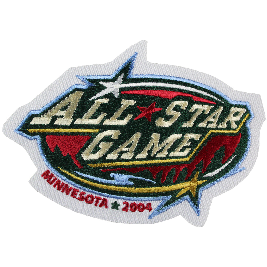 2004 NHL All-star Game Jersey Patch Minnesota Wild