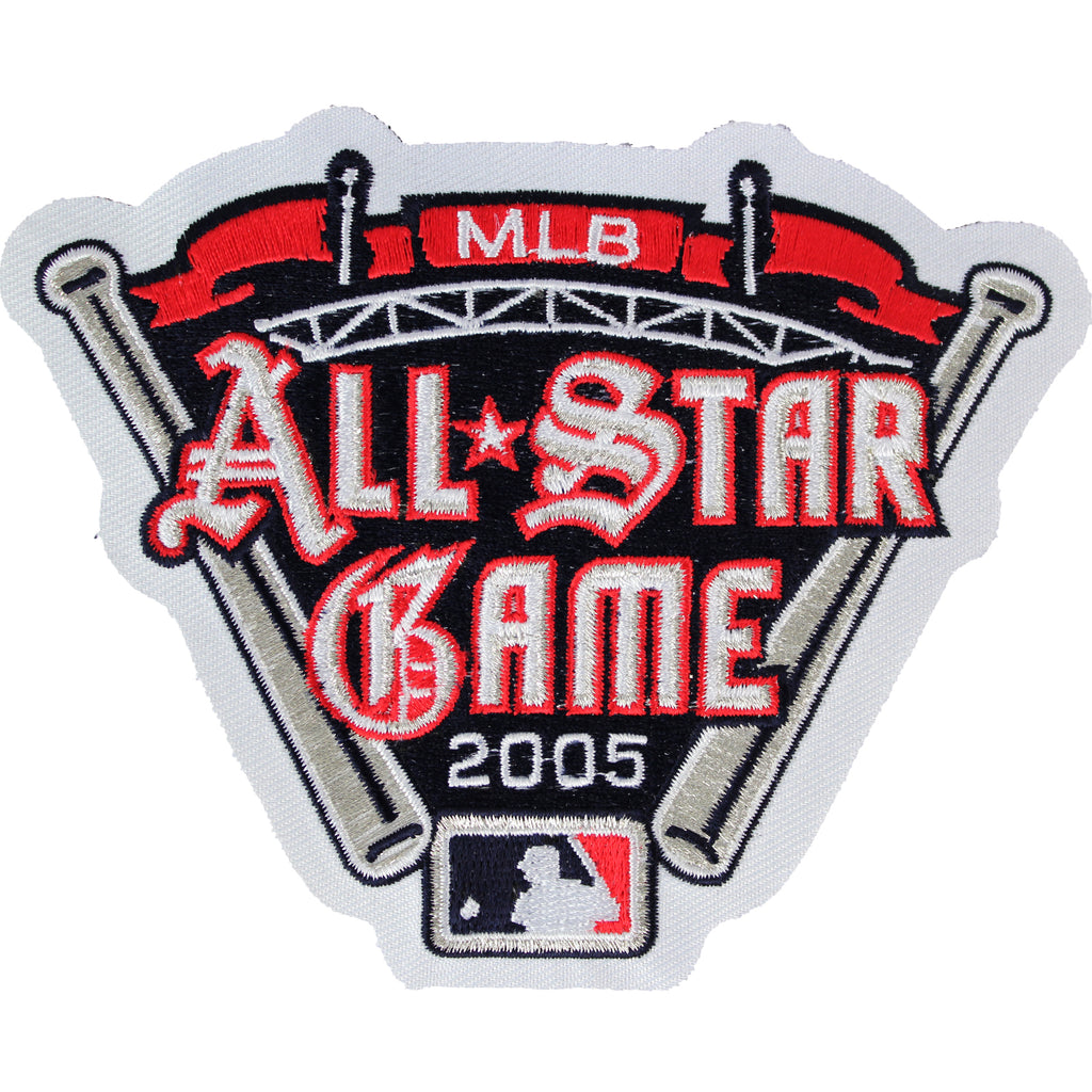 2005 MLB All-star Game Jersey Patch Detroit Tigers