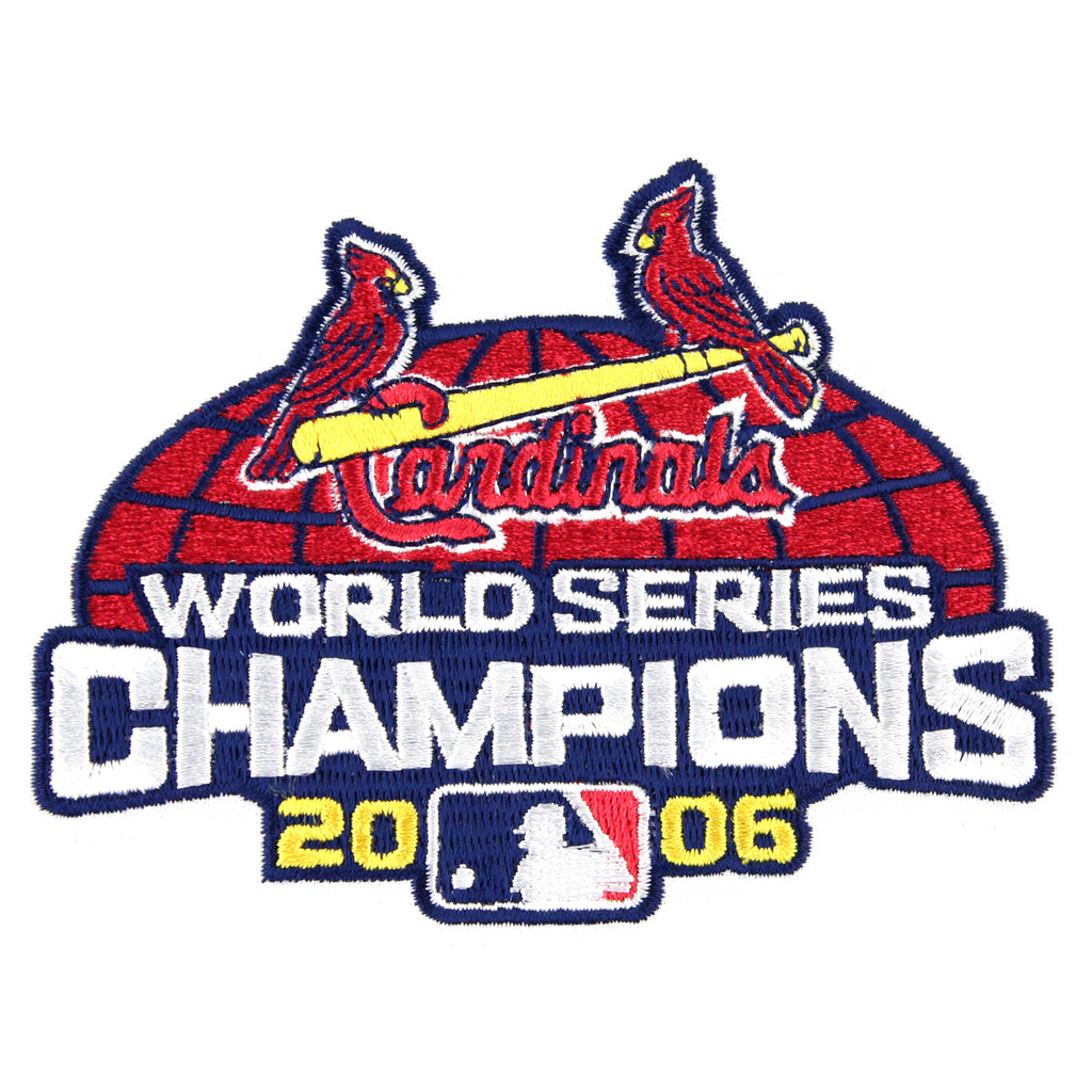 2006 St. Louis Cardinals MLB World Series Champions Jersey Patch