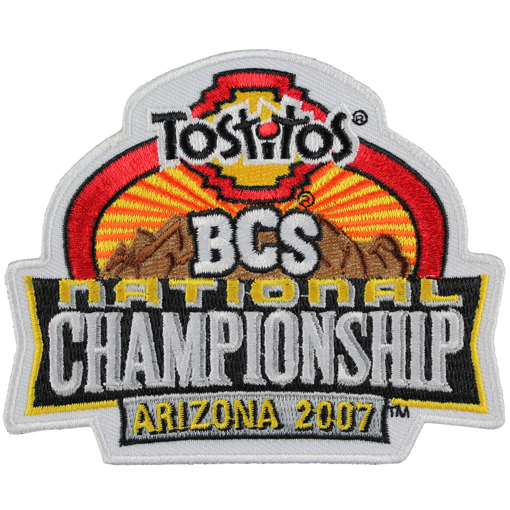 2007 Tostitos BCS National Championship Game Patch in Arizona (Florida Gators vs. Ohio State Buckeyes)