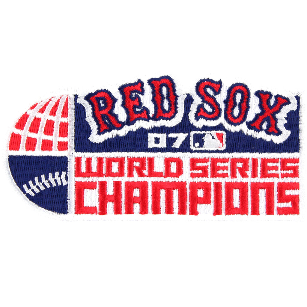 2007 Boston Red Sox MLB World Series Champions Jersey Patch