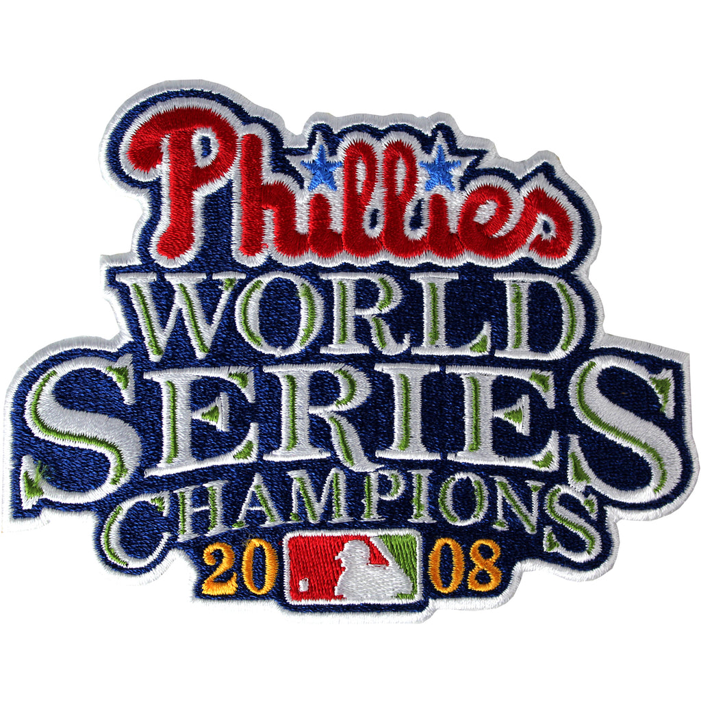 2008 Philadelphia Phillies MLB World Series Champions Jersey Patch