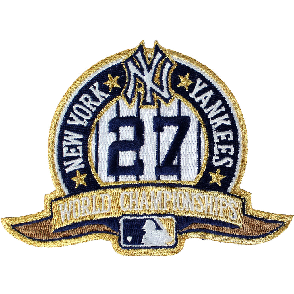 2009 New York Yankees 27 MLB World Series Champions Jersey Patch