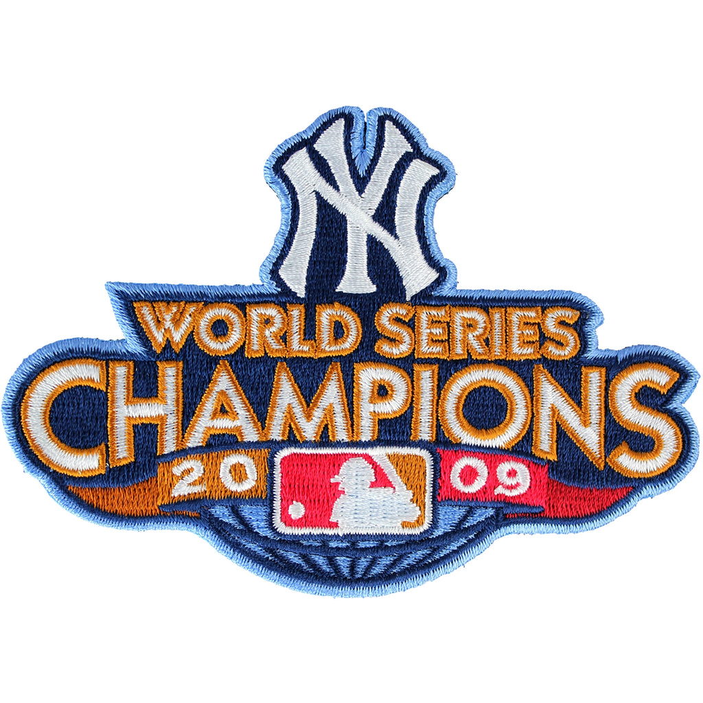 2009 New York Yankees MLB World Series Champions Jersey Patch