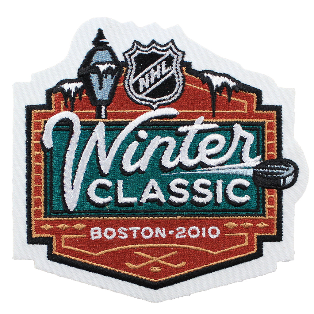 2010 NHL Winter Classic Game Logo Jersey Patch (Boston Bruins vs. Philadelphia Flyers)