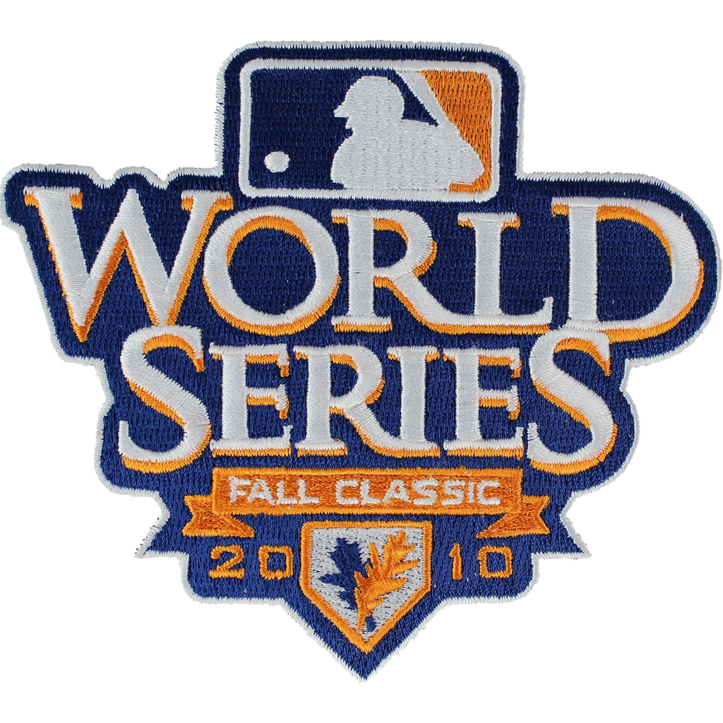 2010 MLB World Series Logo Jersey Sleeve Patch San Francisco Giants vs. Texas Rangers (White Border)