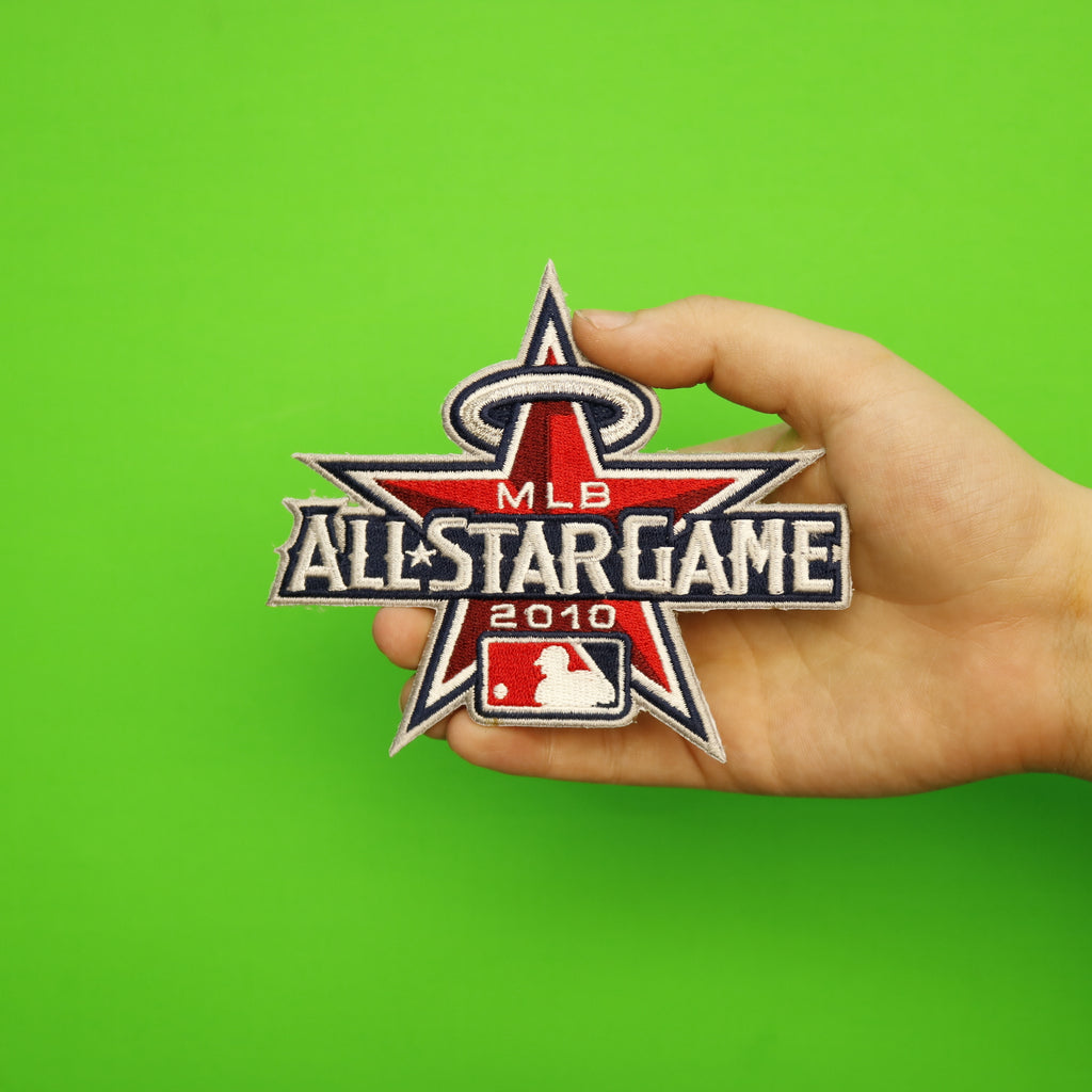 2010 MLB All-star Game Jersey Patch Los Angeles Angels Of Anaheim