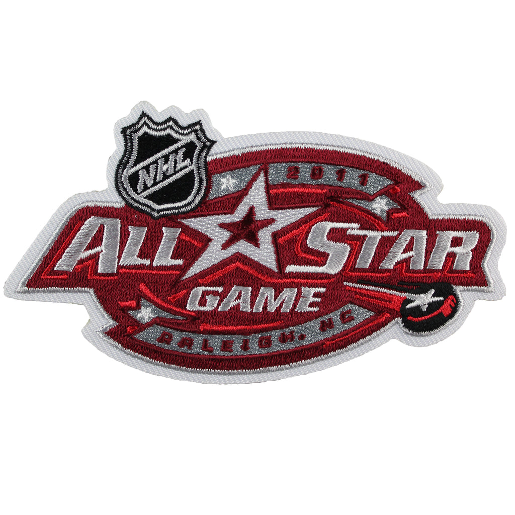 2011 NHL All-star Game Jersey Patch Raleigh North Carolina Hurricanes