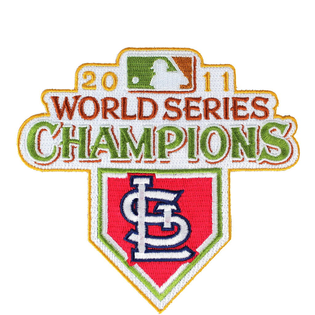 2011 St. Louis Cardinals MLB World Series Champions Jersey Patch