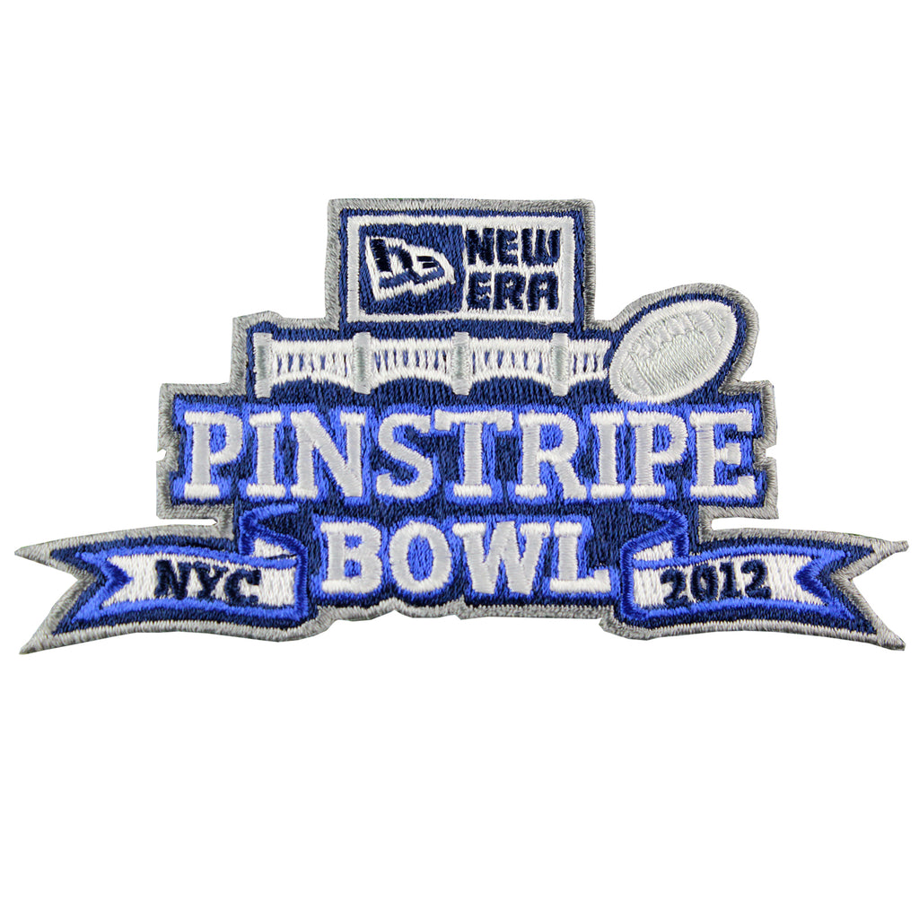 2012 New ERA Pinstripe Bowl Patch (New York City)