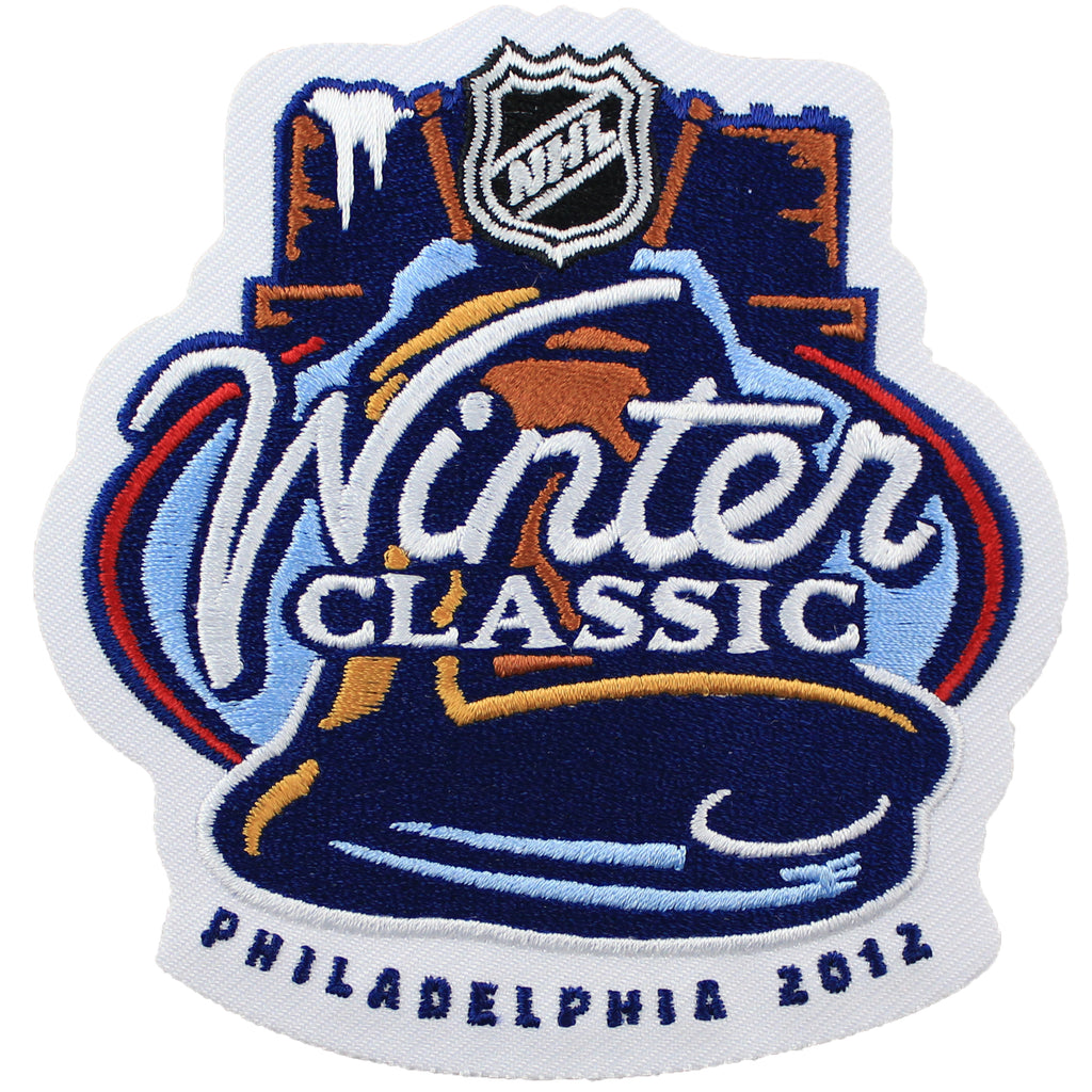 2012 NHL Winter Classic Game Logo Jersey Patch (Philadelphia Flyers vs New York Rangers)