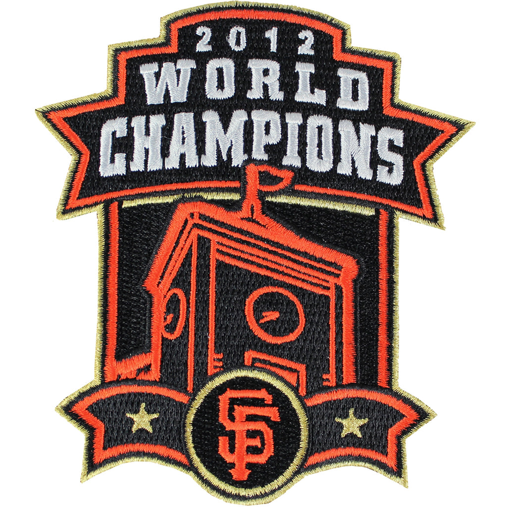 2012 San Francisco Giants MLB World Series Champions Jersey Patch (Clock Tower)