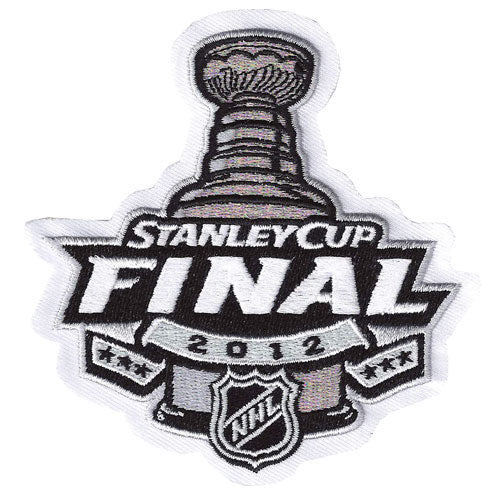 2012 NHL Stanley Cup Final Logo Jersey Patch New Jersey Devils vs. Los Angeles Kings