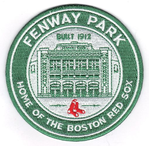 Boston Red Sox Official Fenway Park Stadium Logo Patch