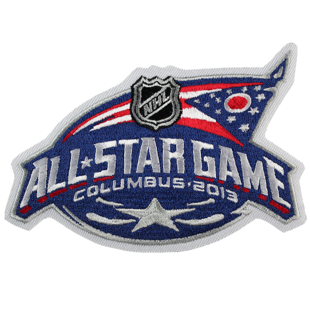 2013 NHL All-star Game Jersey Patch Columbus Blue Jackets (Canceled)