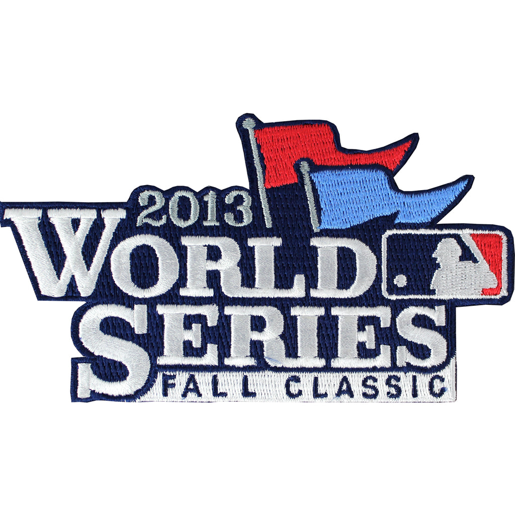 2013 MLB World Series Logo Fall Classic Jersey Sleeve Patch St Louis Cardinals vs. Boston Red Sox