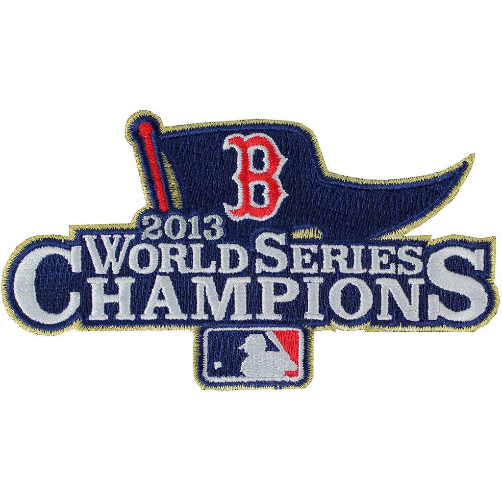 2013 MLB World Series Champions Boston Red Sox Ring Ceremony Jersey Sleeve Patch (2014)