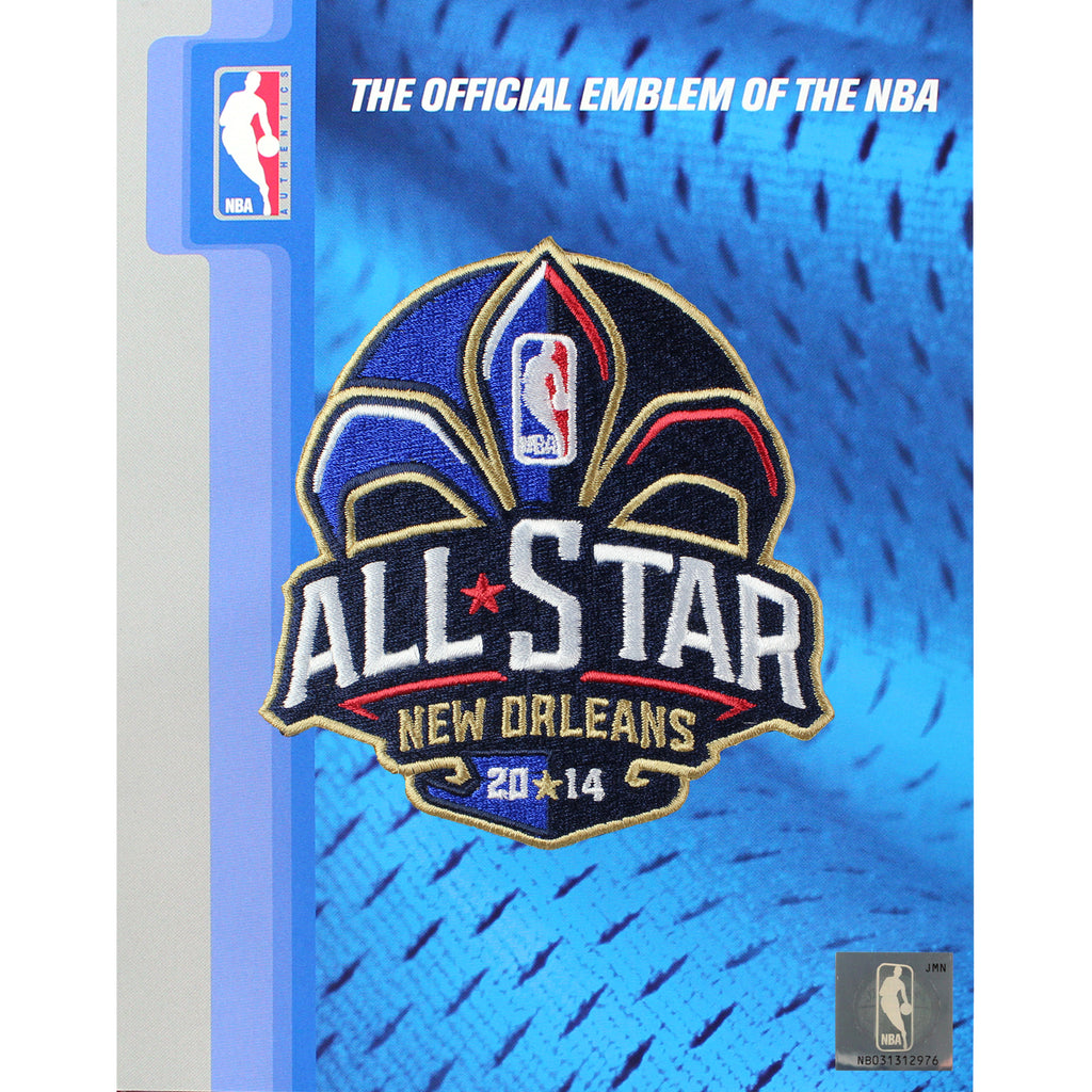 2014 NBA All Star Game Patch New Orleans Pelicans