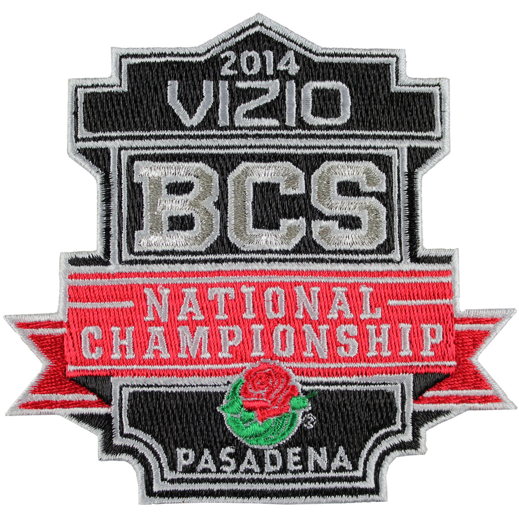 2014 Vizio BCS National Championship Bowl Game Jersey Patch (Florida State vs. Auburn)