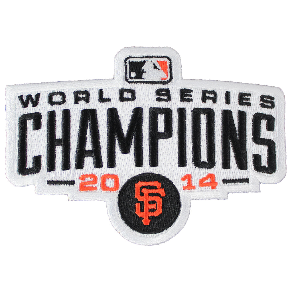 2014 San Francisco Giants MLB World Series Champions Logo Jersey Sleeve Patch