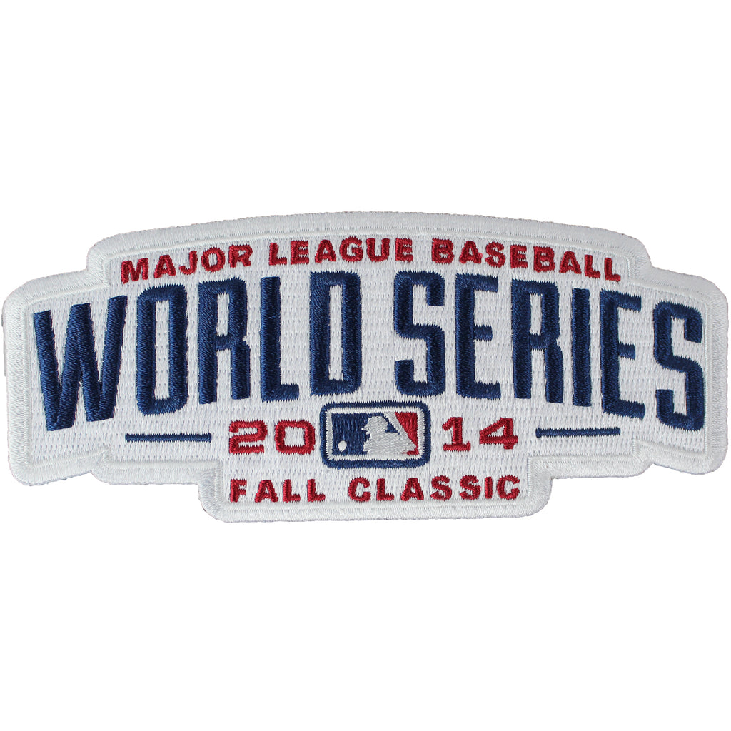 2014 MLB World Series Logo Jersey Sleeve Patch (Kansas City Royals vs. San Francisco Giants)